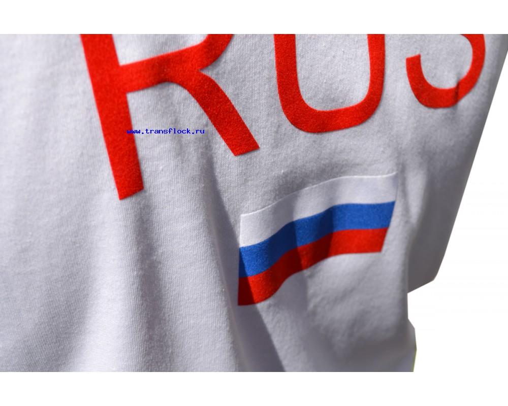 Многоцветная печать флоком на спортивных рубашках