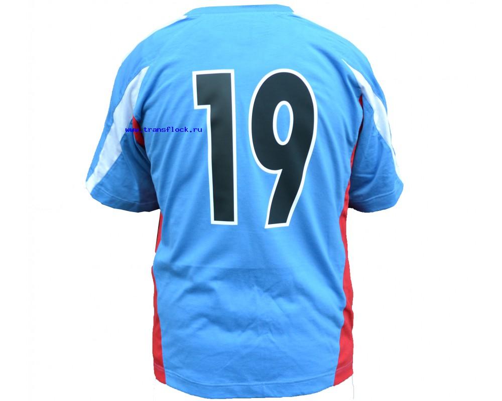Нанесение спортивных номеров на одежду