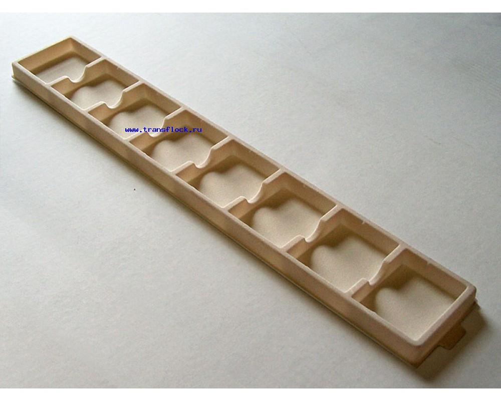 Сувенирные бархатные ложементы из полистирола