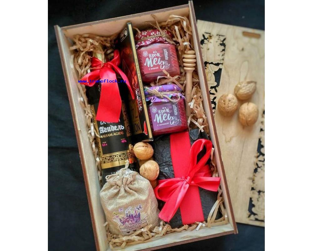 Подарочные коробки для бутылок