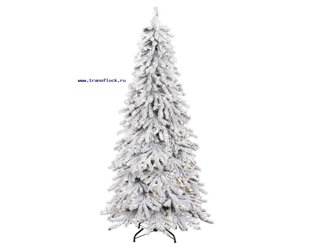 Декор елок флоком
