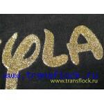 Печать золотом на ткани
