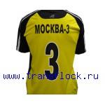 Нанесение номеров на футбольную форму