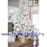 Флокирование елок