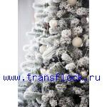 Флокирование и декор елок