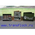 Выборочное флокирование печатной продукции