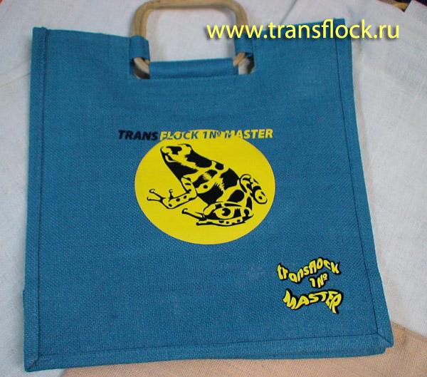 Готовые термотрасферы. примеры работ: пошив сумок.